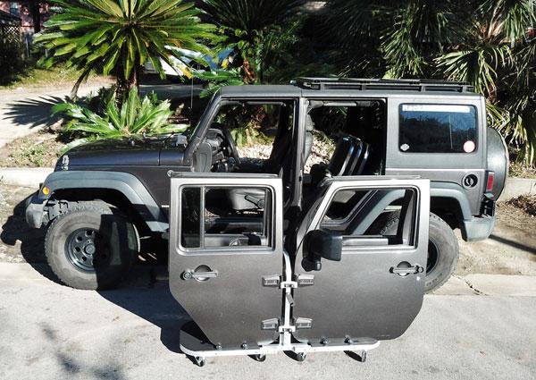 Jeep Wrangler door accessories